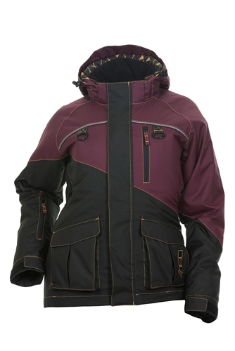 DSG Avid Plus Size Ice Jacket - Deep Maroon