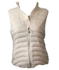 Pulse Plus Size Packable Powder Vest - Pearl