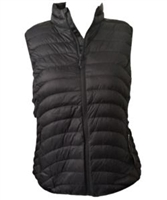 Pulse Plus Size Packable Powder Vest - Black