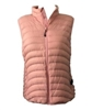 Plus Size Powder Vest - Pink