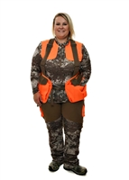 GWG Highland Plus Size Vest | Brown