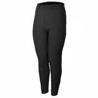 Sportiveplus Plus Size Travel Wear Pants | Black | T1301