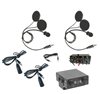 Two Place Off Road 550 Intercom W/ Two DIGITAL S9 Helmet Kits