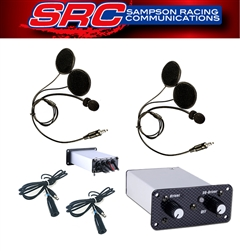 2 Place Intercom Communication System
