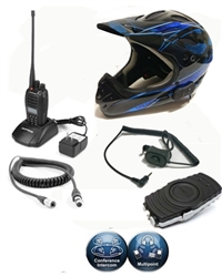 Wireless Off Road Motorcycle 2way Radio System