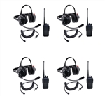 5 Watt Racing Radios Crew Headsets & Handheld Kits