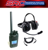 TYT MD-UV390 5 Watt Racing Radios Crew Headset & Handheld Kit