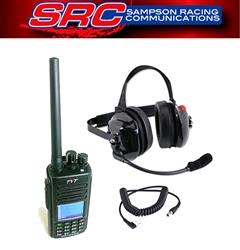 b5c7ea2ba12f TYT MD-UV390 5 Watt Racing Radios Crew Headset & Handheld Kit. Digital  Enduro ...