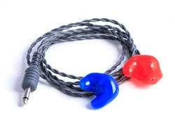 Racer Foam Tip Ear Buds to Custom Upgrade