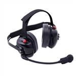 Team Owner BTH Dual Radio Headset with Scanner Jack