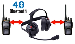 Bluetooth Team Owner BTH Dual Radio Headset