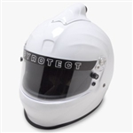Pyrotect Pro Sport Full Face Top Forced Air White