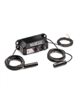 2 Place Sparco IS-140 Portable Intercom Kit