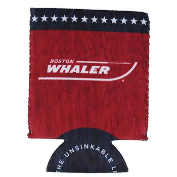 Heritage Can Koozie - Red / Navy