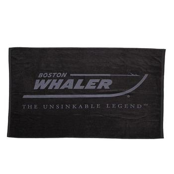 Heavyweight Beach Towel - Black