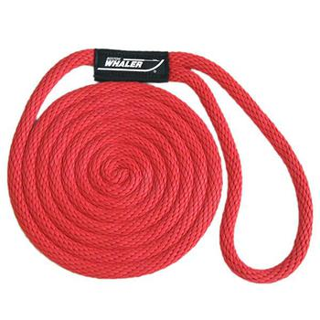 Boston Whaler Dock Lines - 3/8 x 15 - Red
