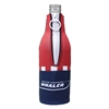 Bottle Koozie - Red / Navy