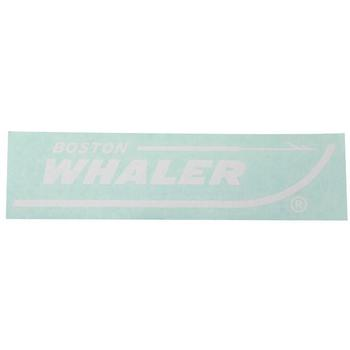 Boston Whaler 10-Inch Vinyl Decal - White