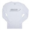 Denali L/S Performance Tee - White