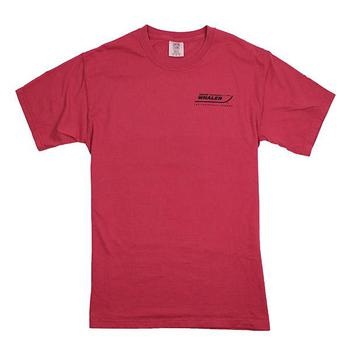 Comfort Color Logo Tee - Chili Red
