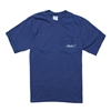 Comfort Color Pocket Tee - Navy