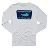 Mahi Emblem LS Performance Tee - White