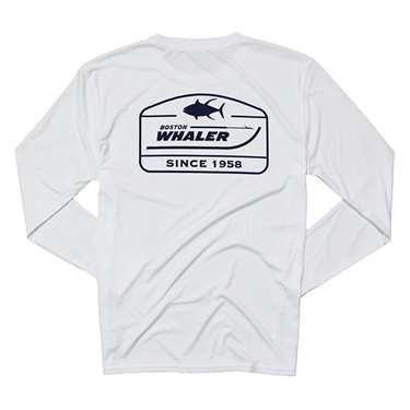 Since 1958 LS Performance Tee - White