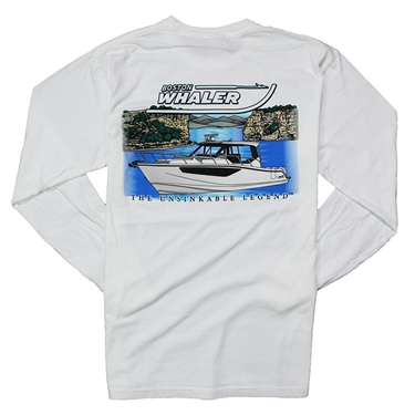 Conquest Life LS Comfort Tee - White