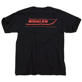 Boston Whaler Logo Tee - Black
