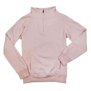 Ladies Classic Pullover Sweatshirt - Cameo Pink