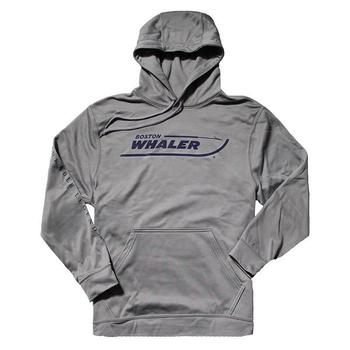 Wicking Performance Hoodie - Athletic Grey