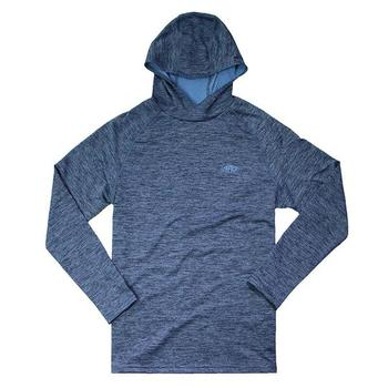 AFTCO Hexatron Performance Hoodie - Midnight