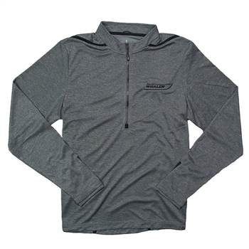 Dege 1/2 Zip Pullover - Charcoal Heather