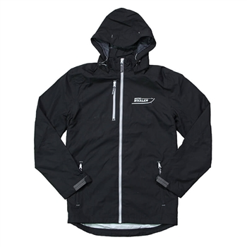 Ansel Hooded Jacket - Black
