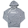 Throwback Hoodie - Grey Heather