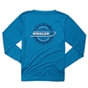 Women's Gravity LS Sun Tee - Atomic Blue