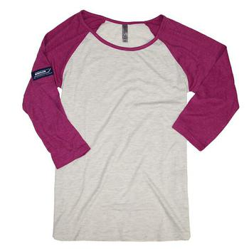 Boston Whaler Ladies 3/4 Sleeve Raglan Tee