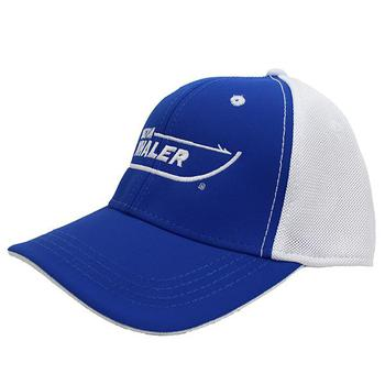 Textured Performance Cap - Cobalt Blue / White