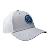 58 Patch Cap - Heather Grey | White