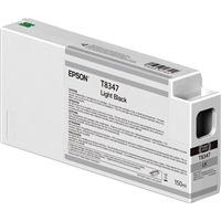 Epson T8347 UltraChrome HD Light Black Ink Cartridge