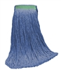 <!a>Wholesale Wet Mops - <strong>CUT END | BLUE BLEND | NARROW BAND | 16 OZ | 12/Case</strong>