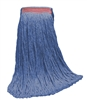 <!c>Wholesale Wet Mops - <strong>CUT END | BLUE BLEND | NARROW BAND | 24 OZ | 12/Case</strong>