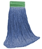 <!e>Wholesale Wet Mops - <strong>CUT END | BLUE BLEND | WIDE BAND | 16 OZ | 12/Case</strong>
