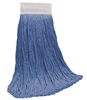 <!e>Wholesale Wet Mops - <strong>CUT END | BLUE BLEND | WIDE BAND | 20 OZ | 12/Case</strong>
