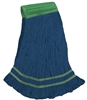 <!d>Wholesale <strong>ANTIMICROBIAL</strong> Wet Mops - <strong>PREMIUM | BLUE | MEDIUM | WIDE BAND | 12/Case</strong>