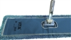 Wholesale Industrial Microfiber Closed Loop Dust Mop Blue 18 Inch