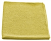 "<!d>Wholesale Microfiber Cloths - <strong>TEXTURED GLASS | YELLOW | 16"" x16"" 