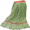 "<!g>Wholesale Microfiber Looped End Wet Mops LARGE | 1 1/4"" BAND 