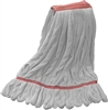"<!o>Wholesale Microfiber Looped End Wet Mops LARGE | 1 1/4"" BAND 