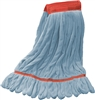 "<!d>Wholesale Microfiber Looped End Wet Mops LARGE | 5"" BAND 